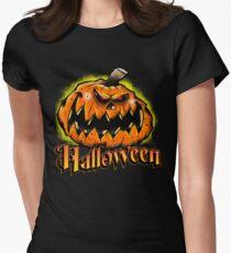 Scary Jack-'o-Lantern Halloween T-Shirt