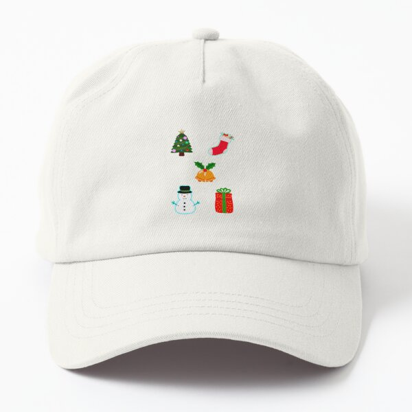 Cute Christmas, Festive Characters Dad Hat