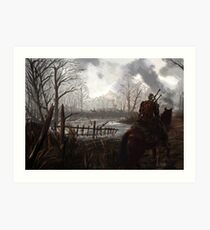 Witch Hunter Raids Art Print