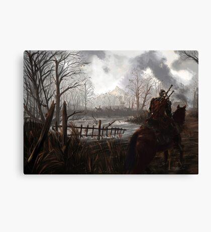 Witch Hunter Raids Canvas Print