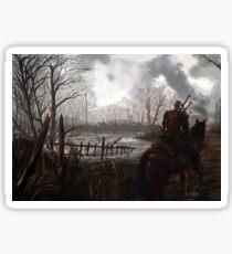 Witch Hunter Raids Sticker