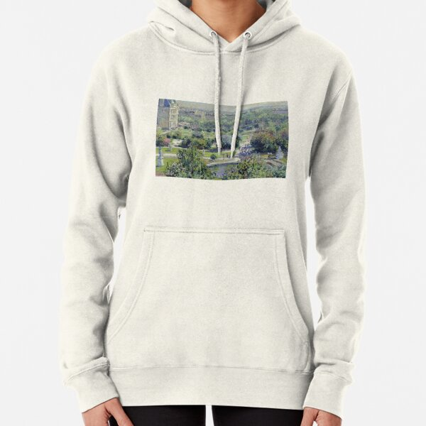 View Of The Tuileries Gardens Pullover Hoodie