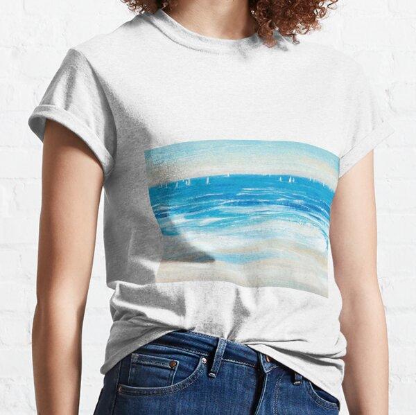 Low Cerulean Tide Classic T-Shirt