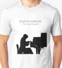 Glenn Gould, the pianist, piano Camiseta unisex