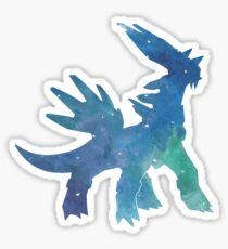 Dialga Nebula Art Sticker