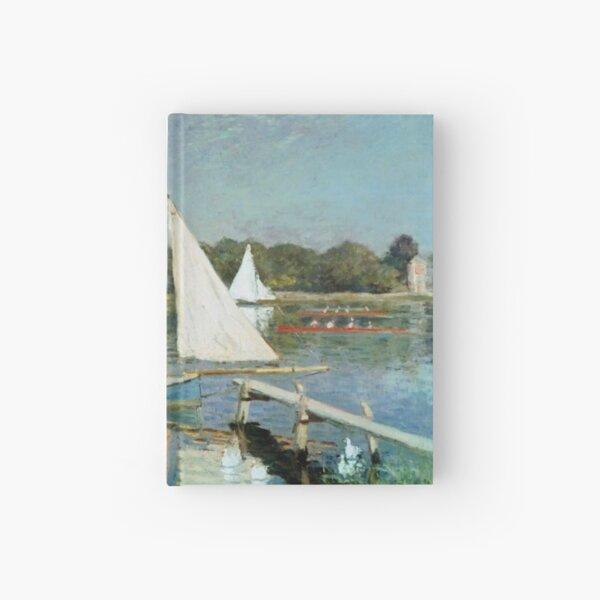 Sailing At Argenteuil Hardcover Journal