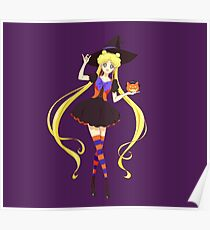 Sailor Moon Witch Poster