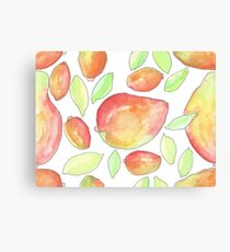 Mango Madness Canvas Print