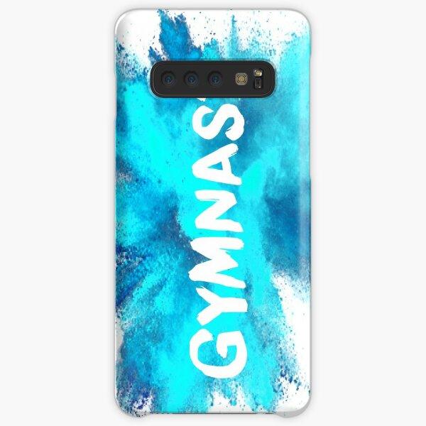Gymnast - Blue Explosion  Samsung Galaxy Snap Case