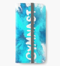 Turner - blaue Explosion iPhone Flip-Case/Hülle/Klebefolie