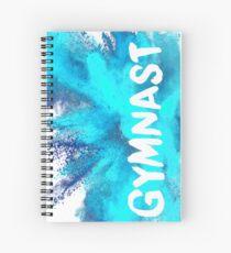Cuaderno de espiral Gimnasta - Explosión azul