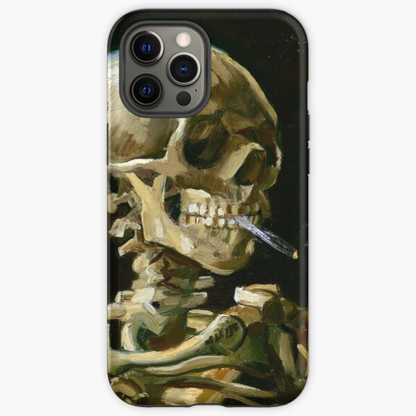 Vincent van Gogh Head of a Skeleton with a Burning Cigarette iPhone Tough Case