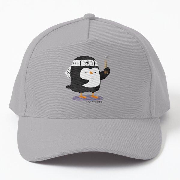 Karate Penguin Baseball Cap