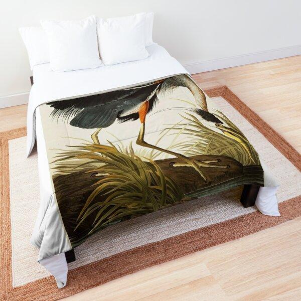 Great Blue Heron Comforter