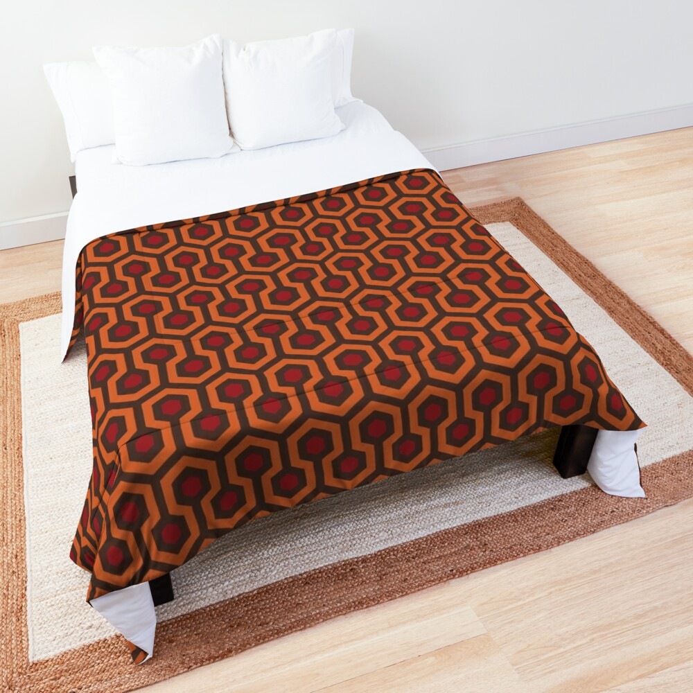 REDRUM Overlook Hotel Carpet The Shining Comforter