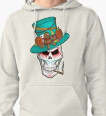 Day of the Dead Voodoo Skull Pullover Hoodie