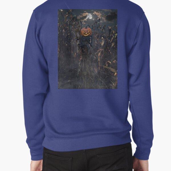 Moonlit Scarecrow Pullover Sweatshirt
