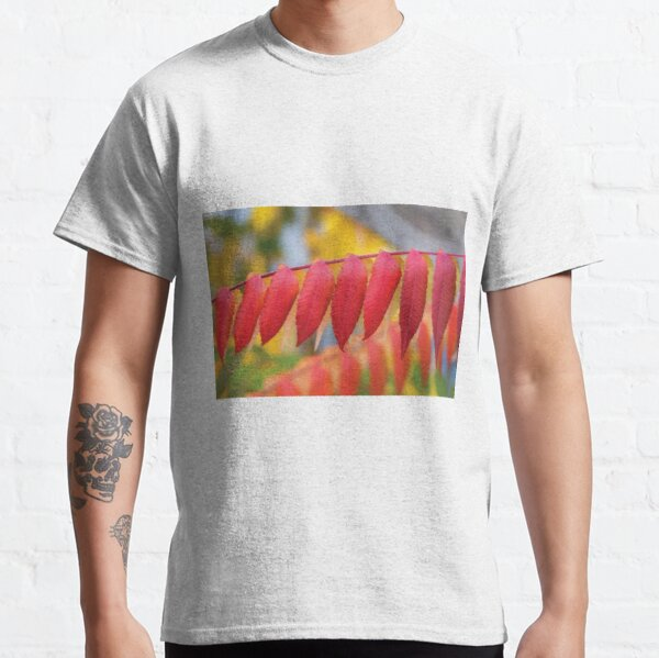 Red Leaves Of A Virginia Sumac Classic T-Shirt