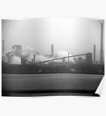 Hamilton steel works... Poster