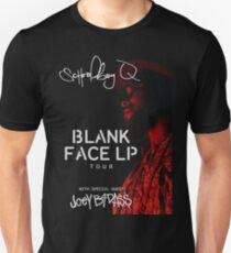 Schoolboy Q Blank Face LP Tour 2016 T-Shirt