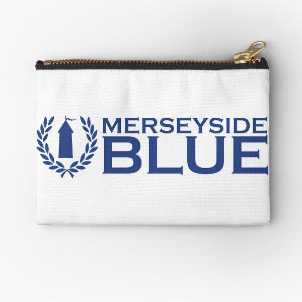 Merseyside is Blue Zipper Pouch