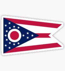 Ohio-Flagge Sticker
