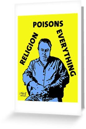 Christopher Hitchens Poison by DJVYEATES