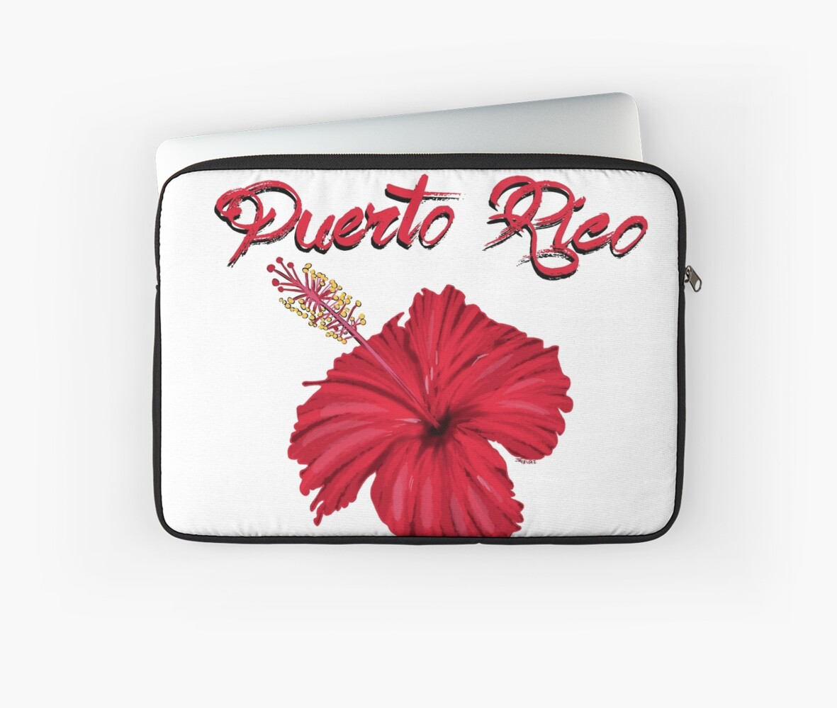 Puerto rico flower laptop sleeves by elnitrozo3 redbubble puerto rico flower by elnitrozo3 izmirmasajfo