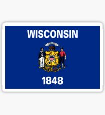 Wisconsin Flag Sticker