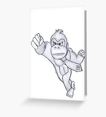Donkey Kong Greeting Card