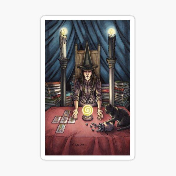 Everyday Witch Tarot - The High Priestess Sticker