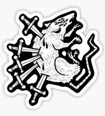 Five of Swords Sticker