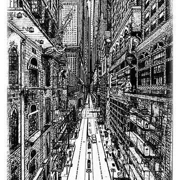 Cityscape by dkbodo