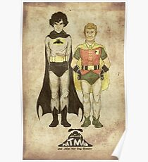 The Adventures of Hat-man and John the Boy Wonder Poster