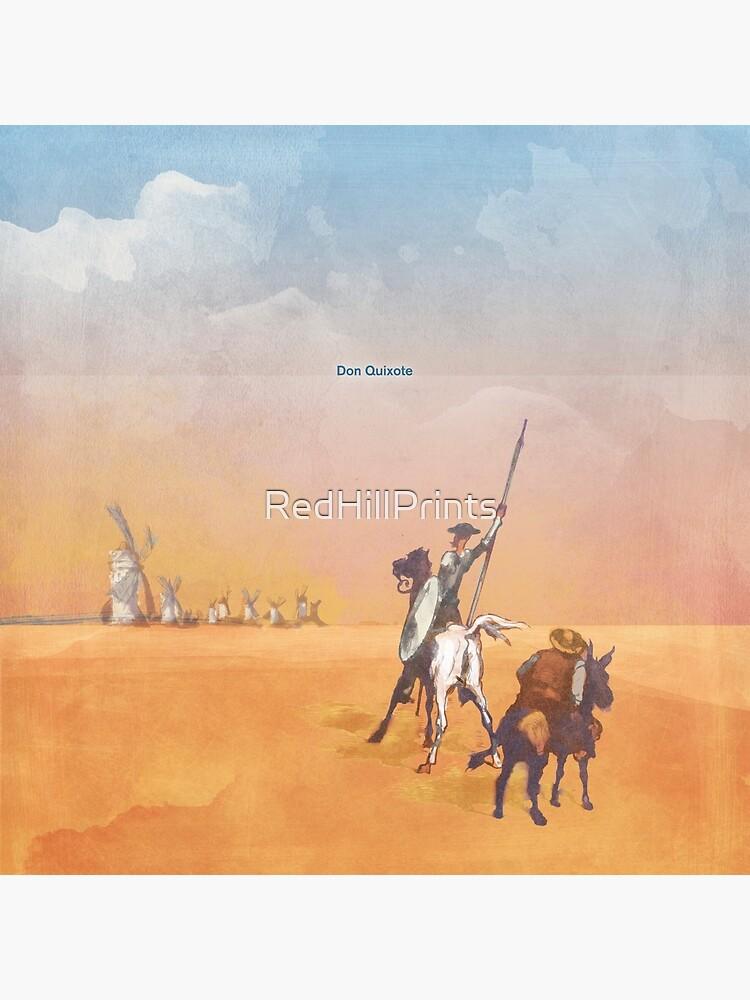 Don Quixote - Miguel de Cervantes by RedHillPrints
