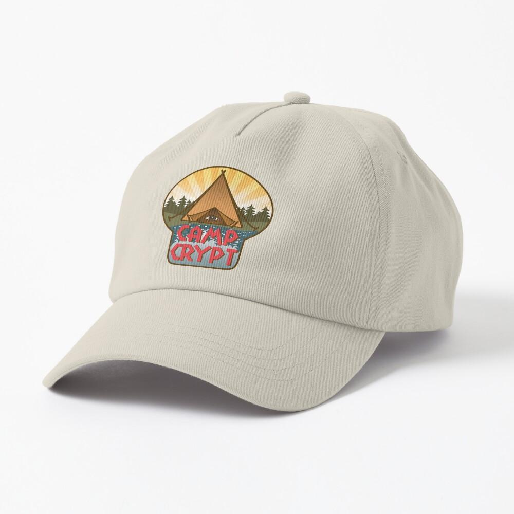 Camp Crypt logo Cap