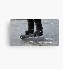 giant Ice Skate Canvas Print