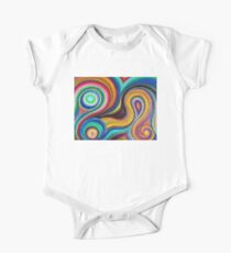 Swirly Colors Kids Clothes