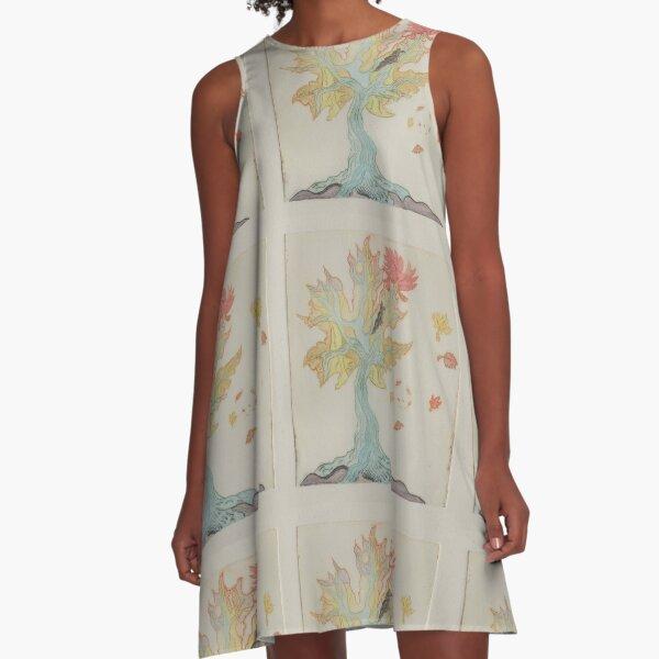 Crisp A-Line Dress