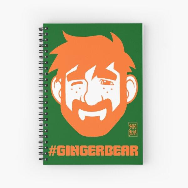 ADAM LIKES GINGER Spiral Notebook