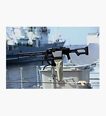 Machine gun Kalashnikov Photographic Print
