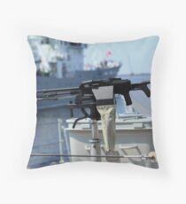 Machine gun Kalashnikov Throw Pillow