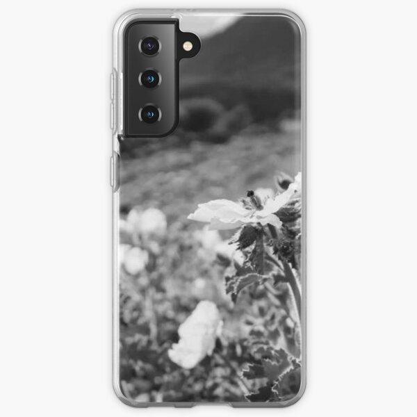 Monochrome Yosemite Blooms Samsung Galaxy Soft Case