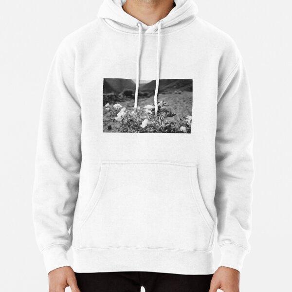 Monochrome Yosemite Blooms Pullover Hoodie