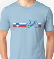 Camiseta unisex Bike Stripes Eslovenia