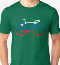 Bike Flag Slovenia (Big) T-Shirt