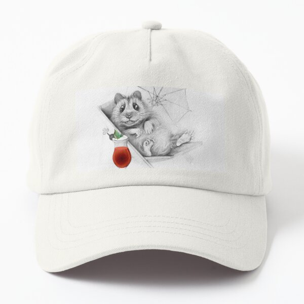 Hamster while chilling Dad Hat
