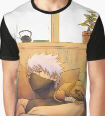Sleeping Kakashi Graphic T-Shirt