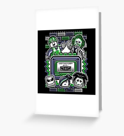 Everything is Creepy Mix Vol. 1 Greeting Card
