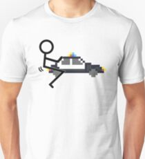 Fuck Police cool funny police car fucking icon Slim Fit T-Shirt